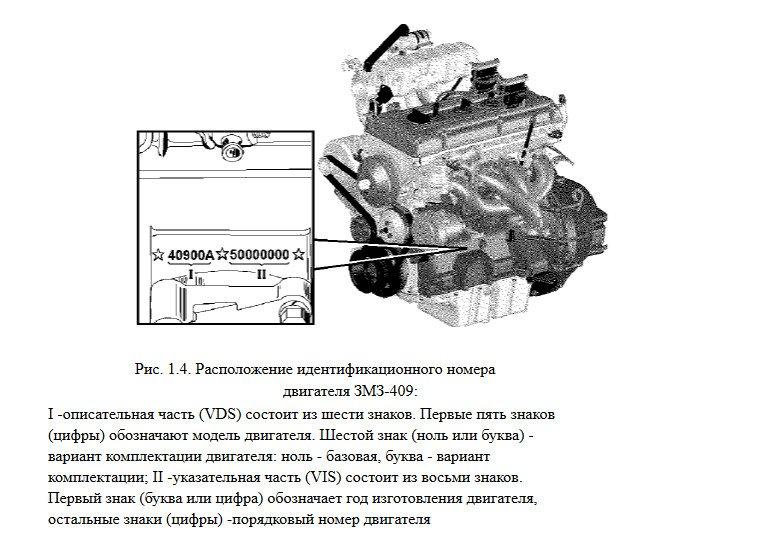 Двигатель ЗМЗ 409